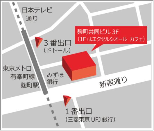 アイムファクトリーの地図